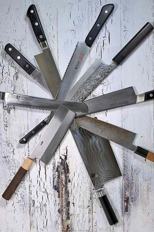conjunto de Cuchillosde cocina