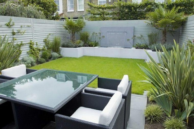 ideas de diseño de jardines pequeños minimalistas