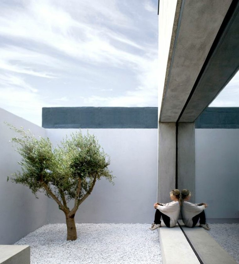 jardines pequeños minimalistas