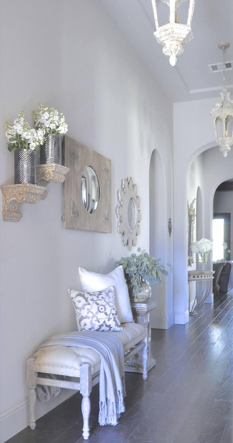 decoracion de recibidores-espejos