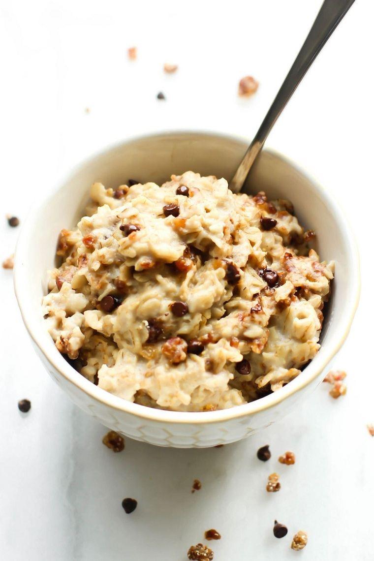 recetas saludables desayuno-opciones-adelgazar-comida-harina-avena