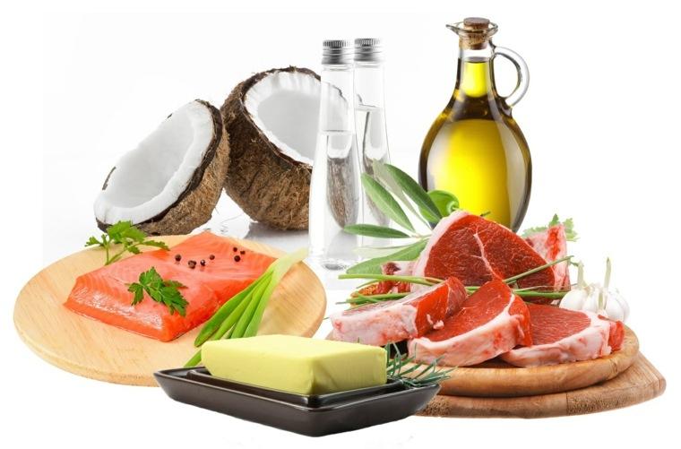 dieta saludable grasas
