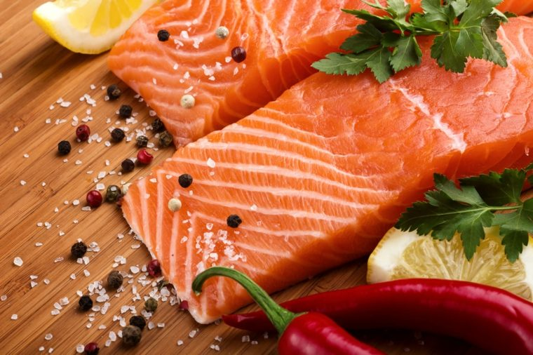dieta saludable salmon