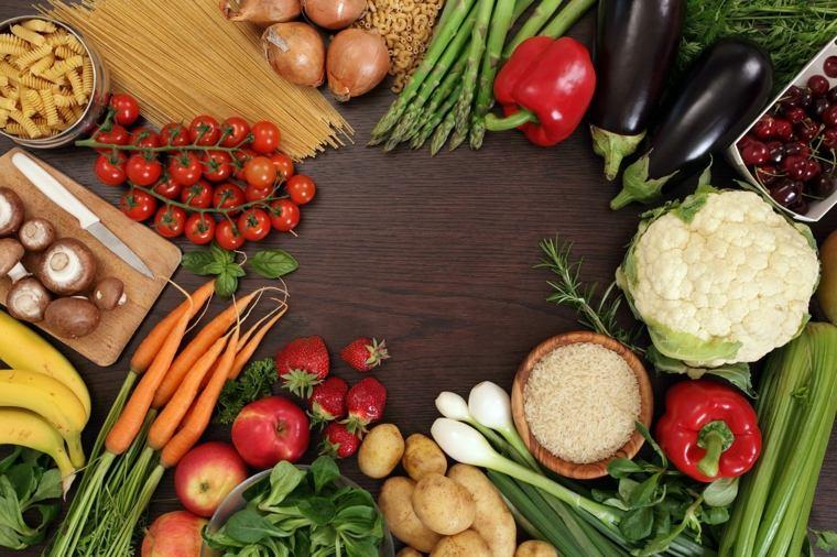dieta saludable verduras