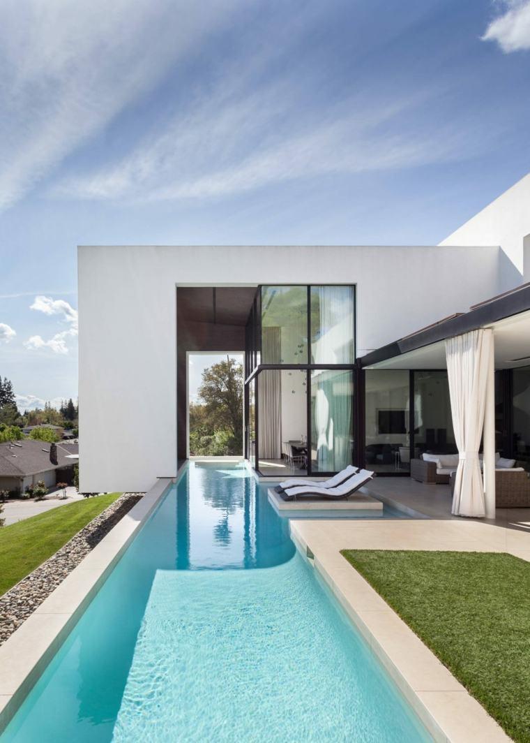 Dise o de jardines peque os con piscina peque a ideas y for Disenos de quinchos con piscinas