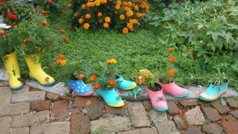diseño de jardines rústicos