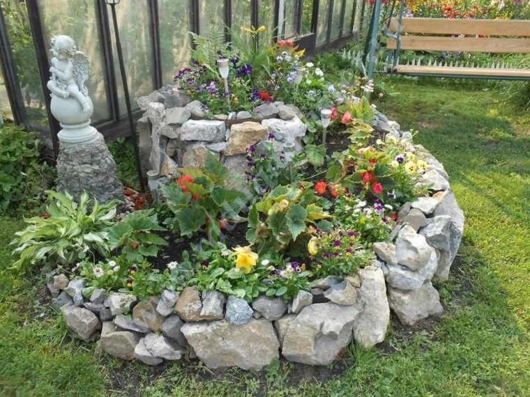 diseño de jardines rústicos decoracion