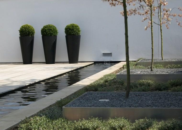 diseño de jardines pequeños minimalistas