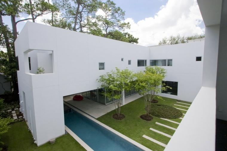 ideas para jardines pequeños minimalistas