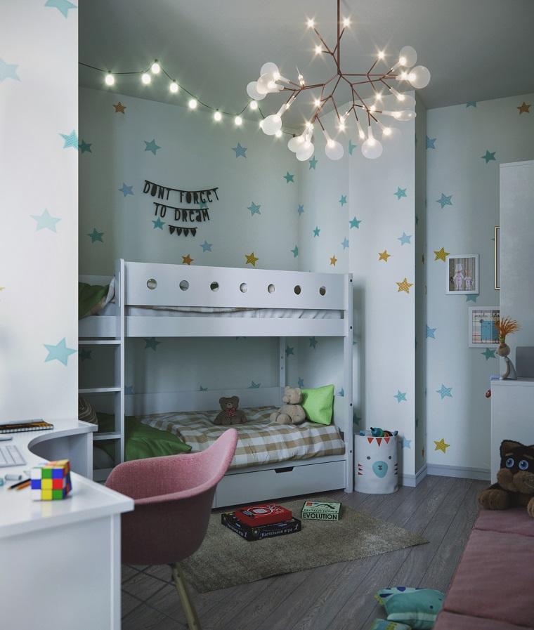dormitorios-infantiles-diseno-literas-blancas