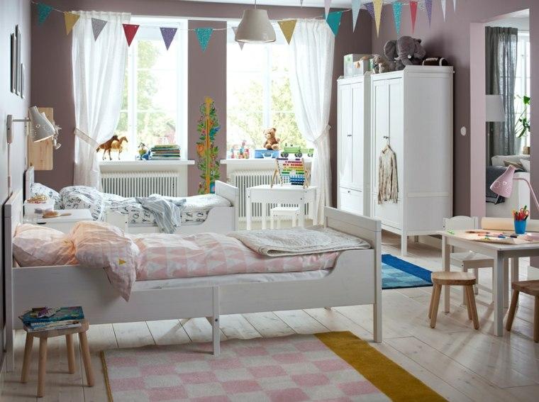 dormitorios-infantiles-diseno-opciones-dos-camas