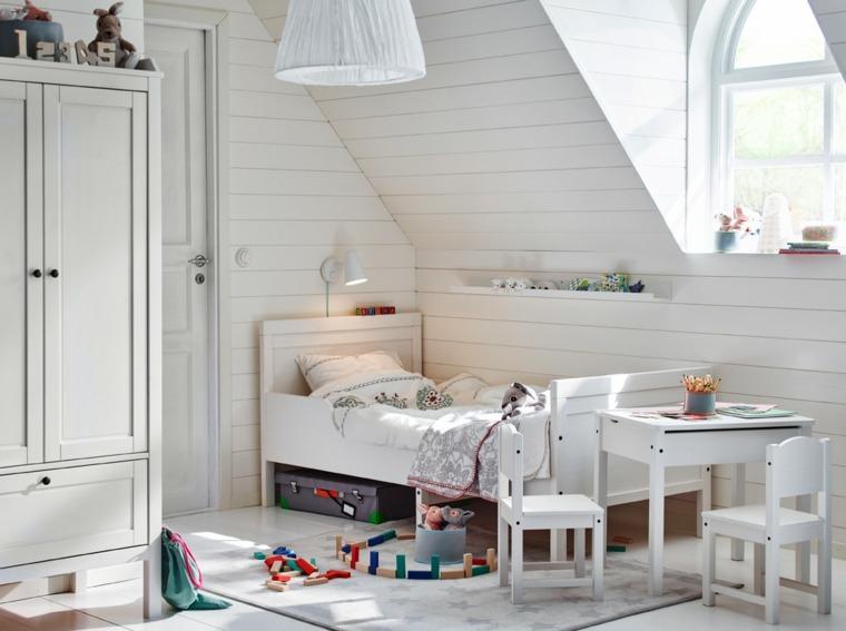 dormitorios-infantiles-diseno-opciones-habitaciones-blancas