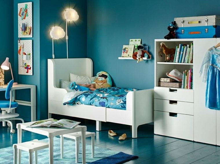 dormitorios-infantiles-diseno-opciones-paredes-azules