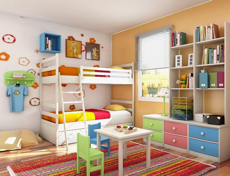 ideas para diseñar dormitorios para niños