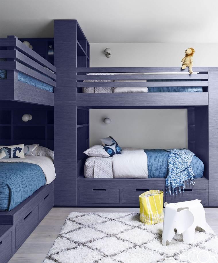 diseñar dormitorios infantiles compartidos