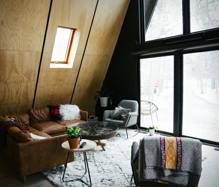 edificios contemporaneos-interiores-madera