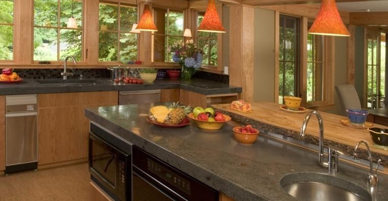 Encimeras de cocina tipos de materiales y consejos - Encimeras de cocina materiales ...