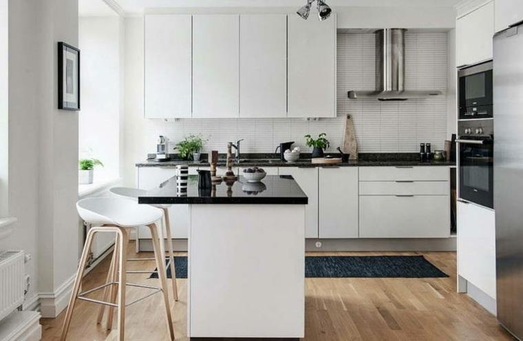 encimeras de cocina-nefras-muebles-blancos