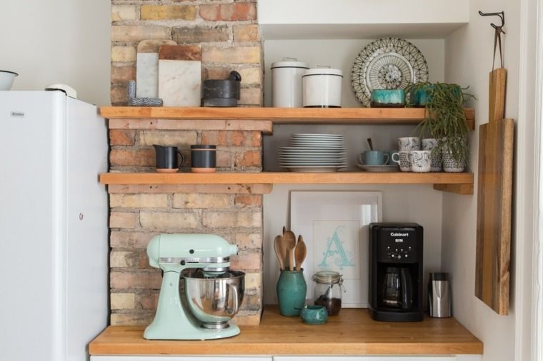 estanterías de-cocina