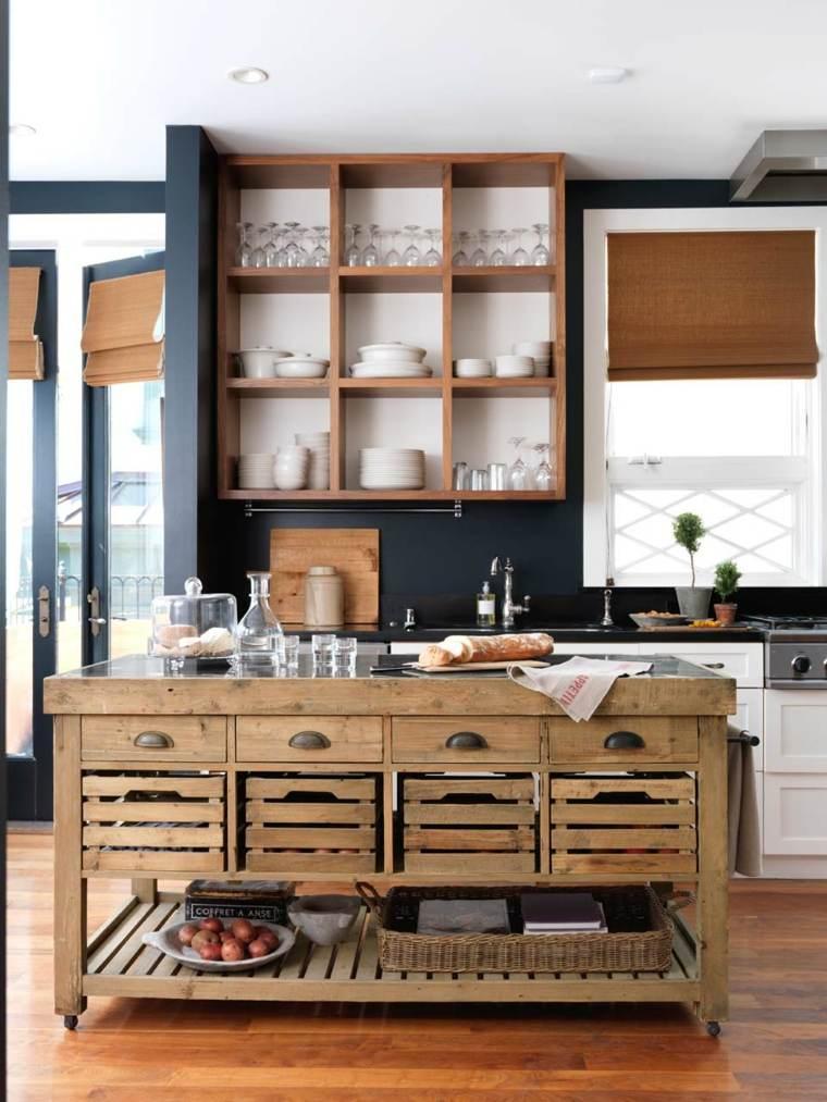 estantes-de-madera-abiertos