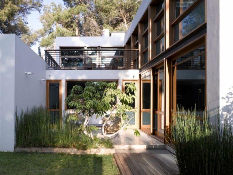 originales ideas para jardines pequeños minimalistas