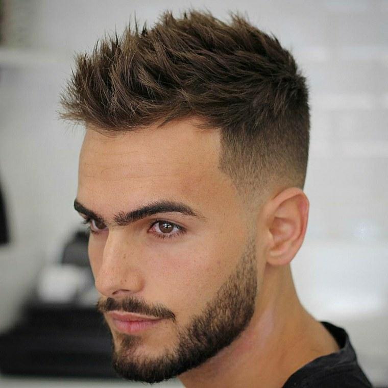 estilos de peinados para hombres-pelo-erizado