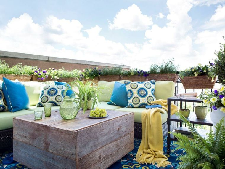 patios y terrazas con encanto