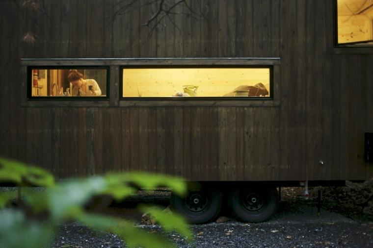 escapada a una cabaña de madera Getaway