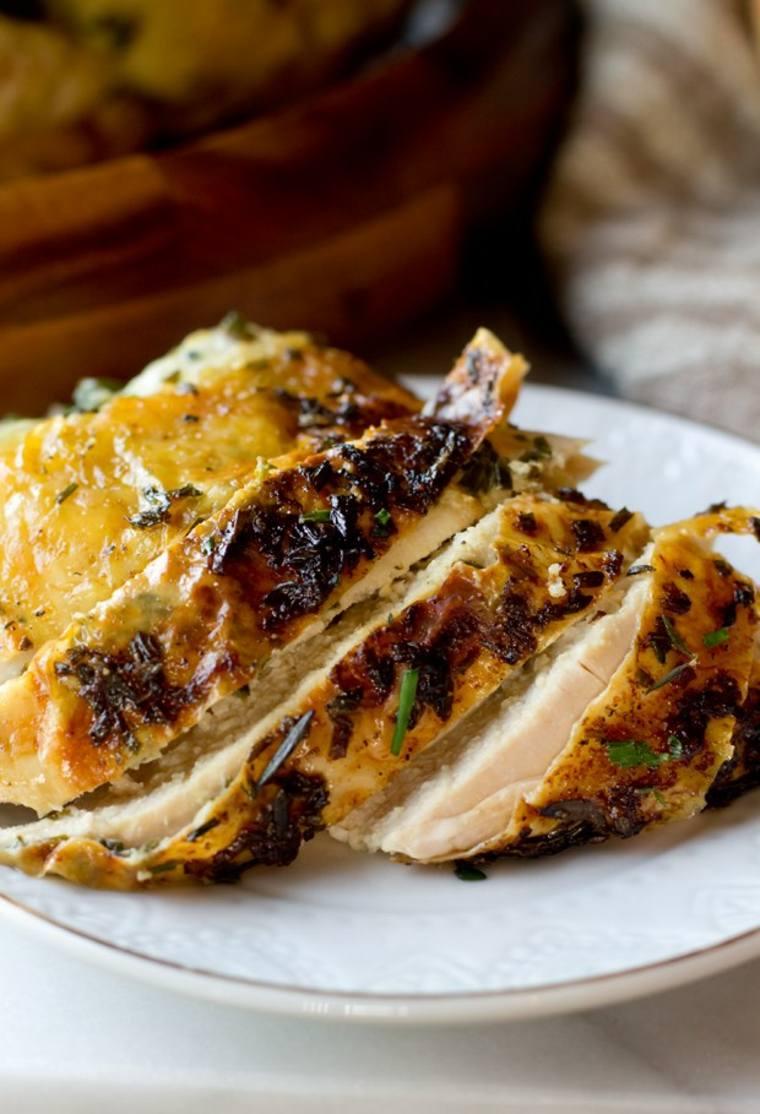 delicioso pollo asado