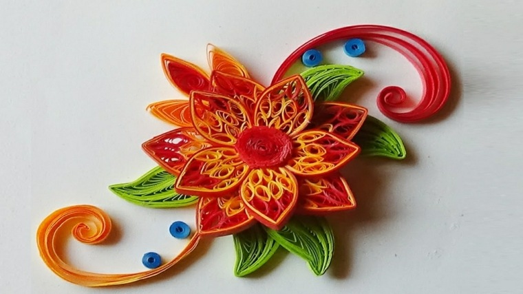 flor-quilling-roja