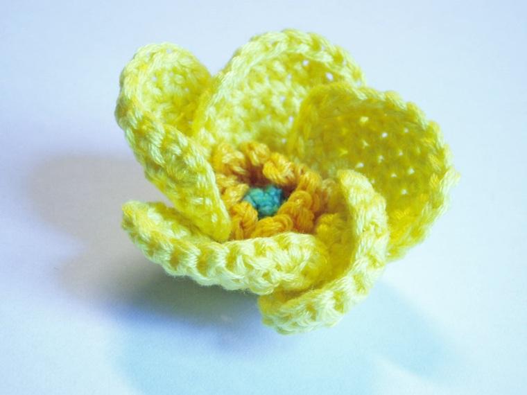 diseños de Flores de ganchillo
