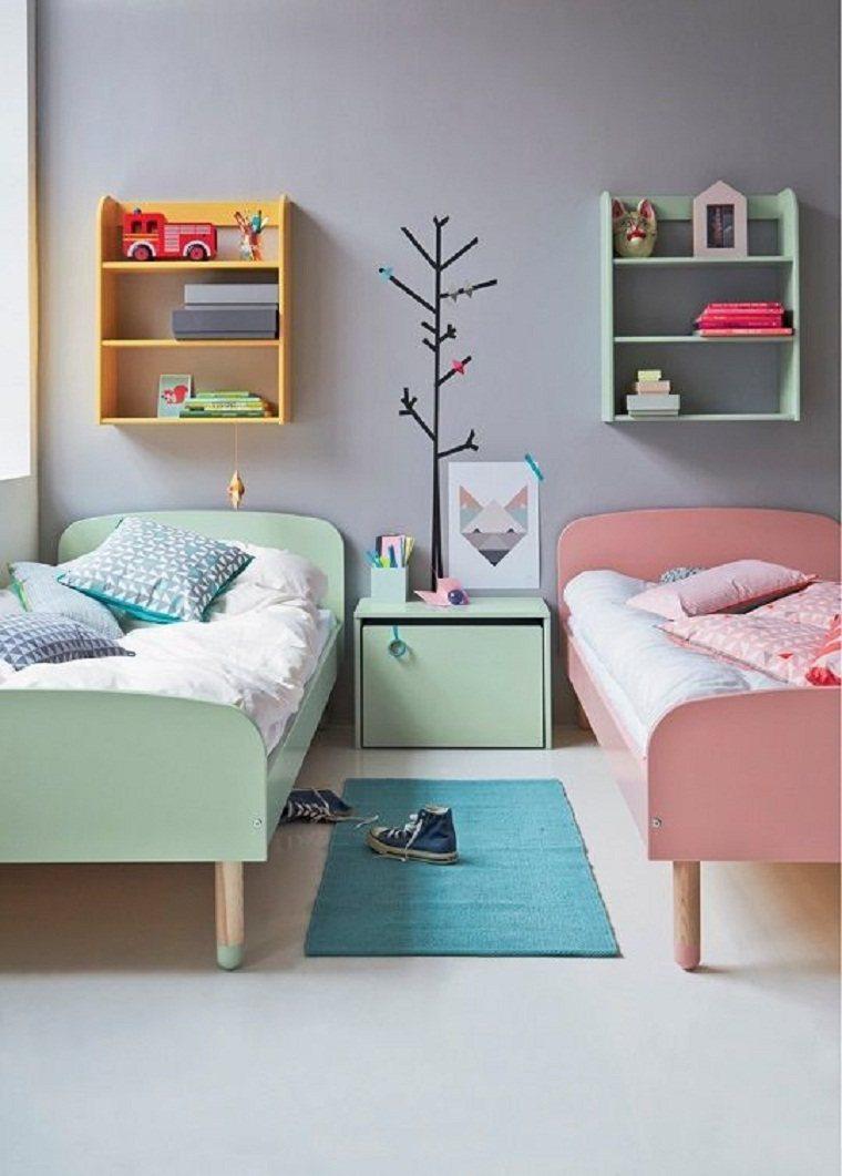 habitación infantil doble
