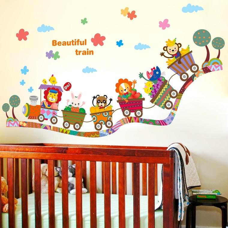ideas para decorar habitaciones infantiles