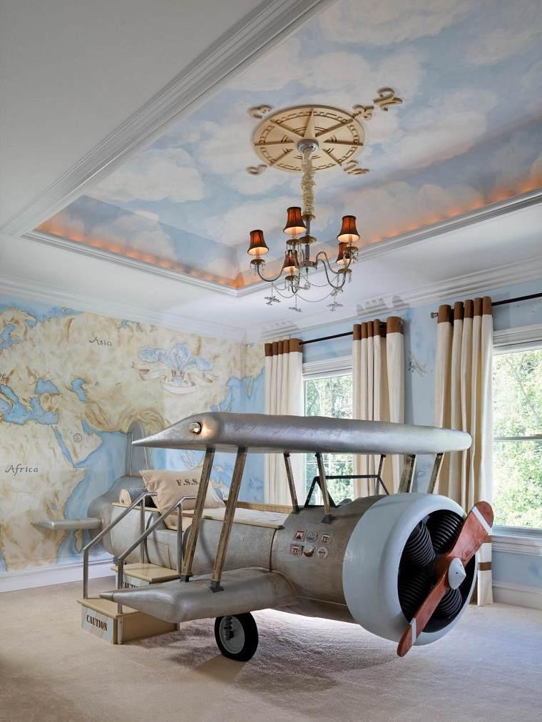cómo decorar dormitorios para niños