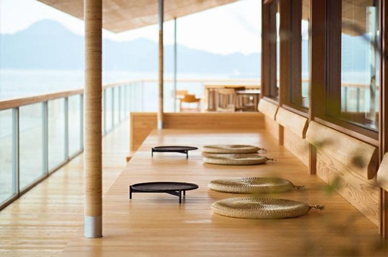 hotel con encanto trabajo madera