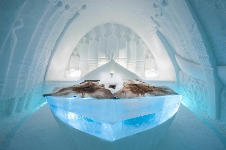 hotel de hielo diseño