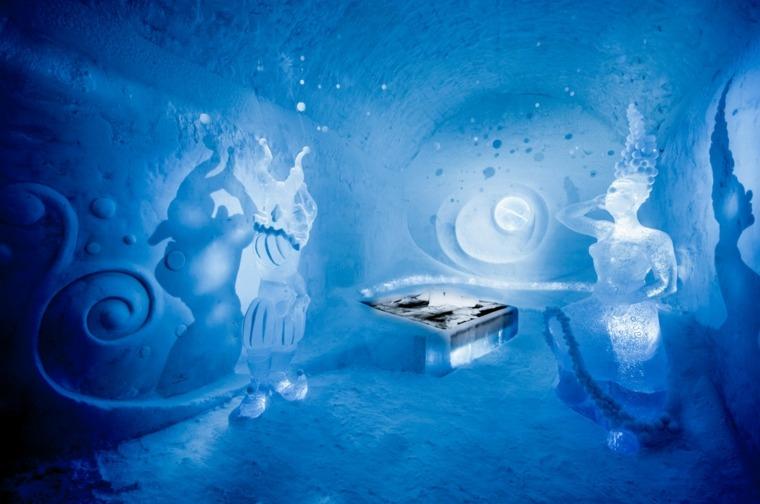 hotel de hielo esculturas-magicas