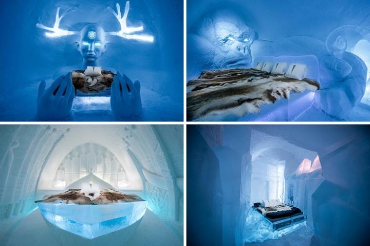 hotel de hielo interior