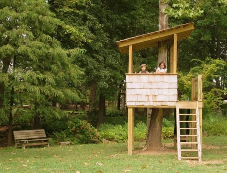 estupenda casita de árbol