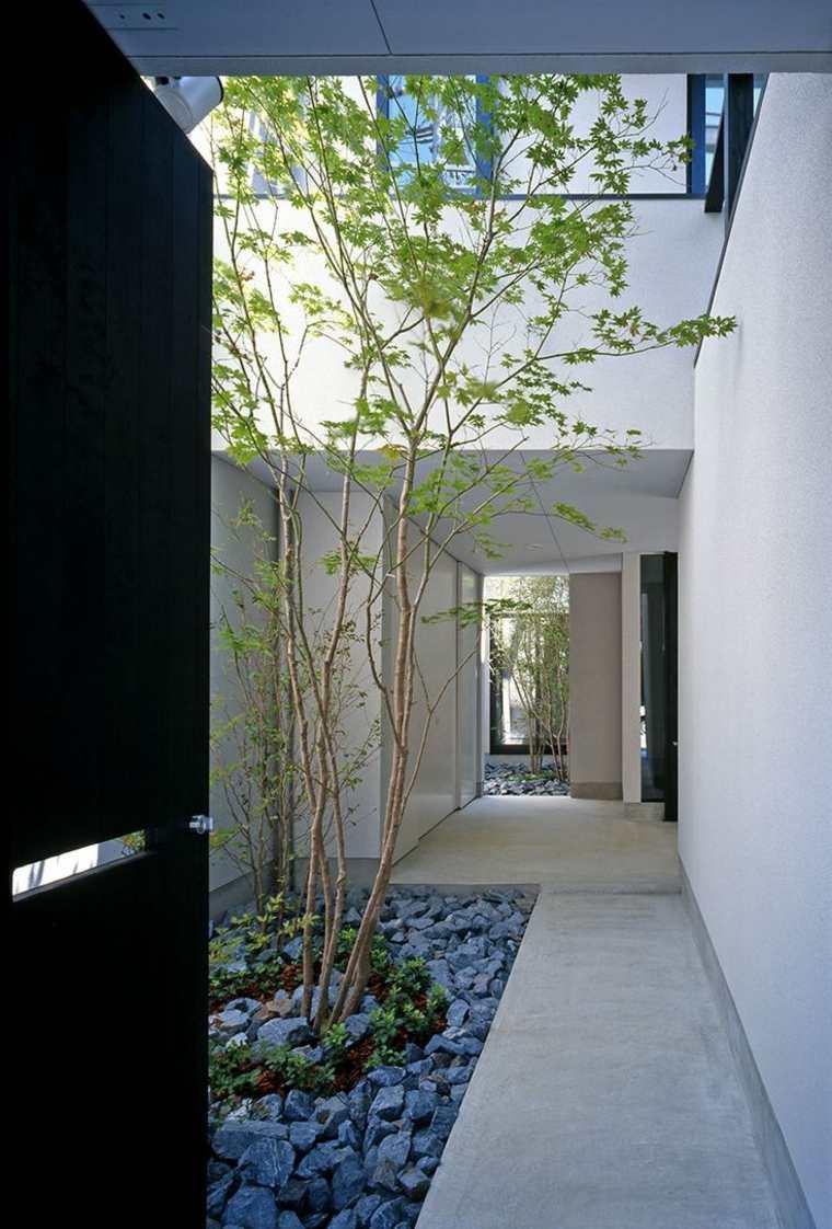 sencillas ideas de decoración de jardines pequeños