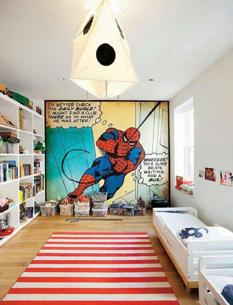 ideas para decorar cuartos para niños