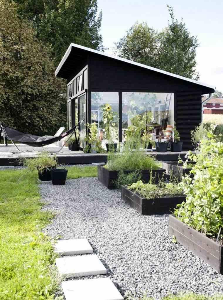 originales ideas de decoración de jardines pequeños