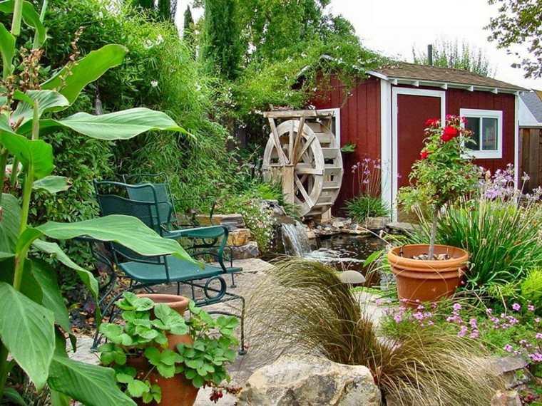 Dise o de jardines r sticos c mo crear una relaci n - Ideas para jardines rusticos ...
