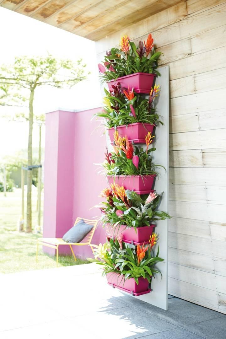 jardines verticales estilo moderno
