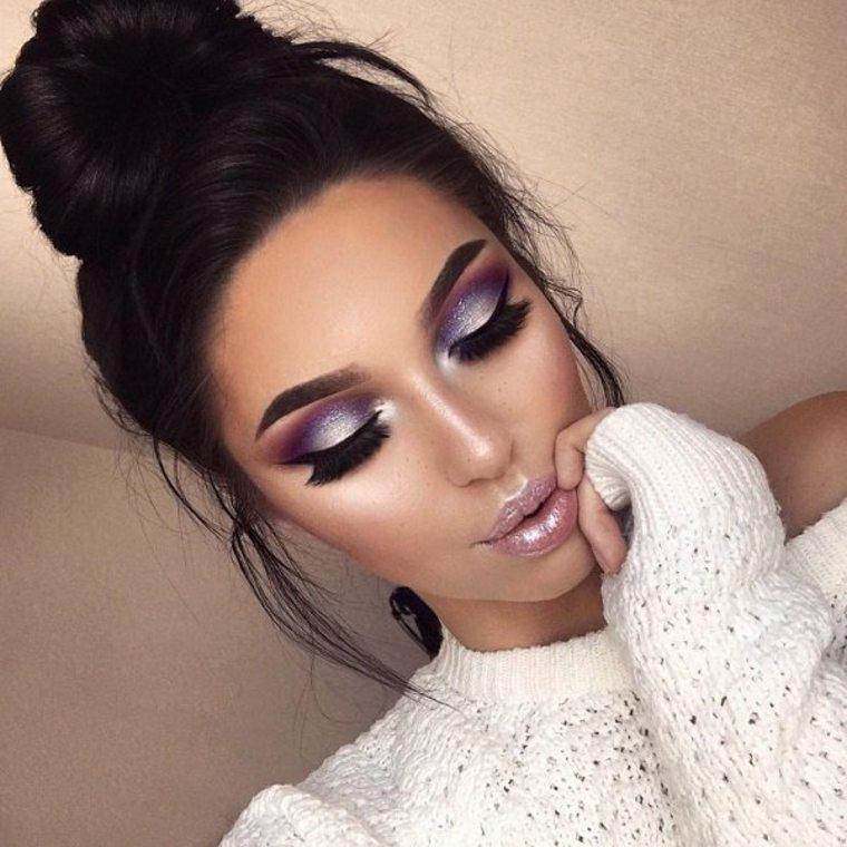 maquillaje de ojos bonito
