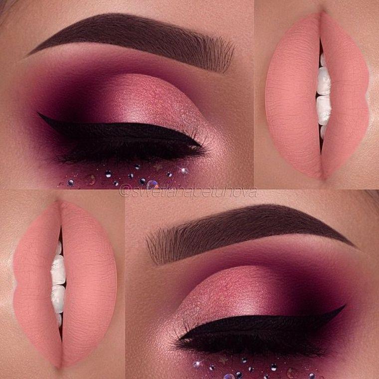 ojos y labios