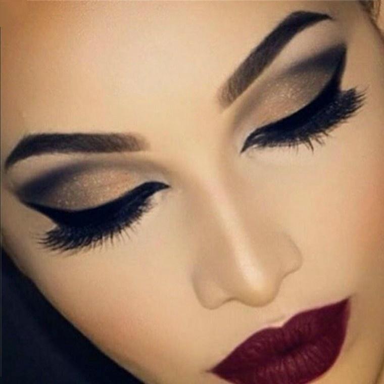 maquillaje de noche paso a paso-irresistible