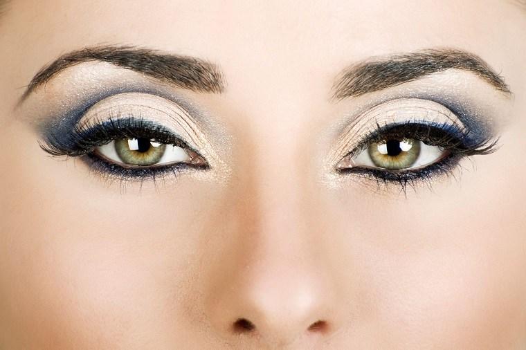 maquillaje-de-ojos-ahumados-opciones-colores-claros