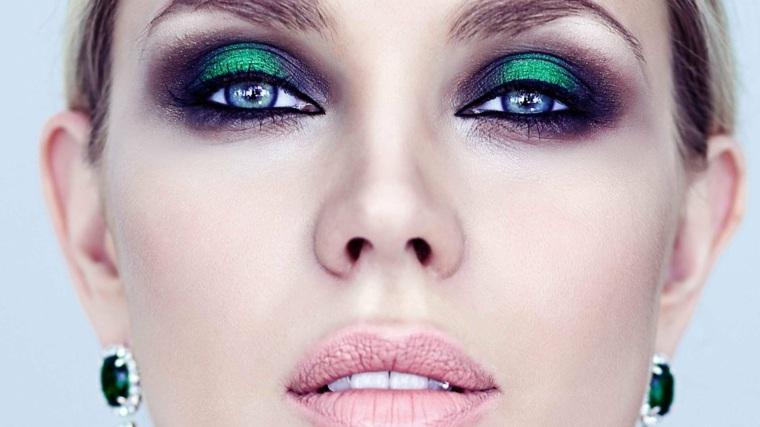 maquillaje-de-ojos-ahumados-opciones-verde-marron