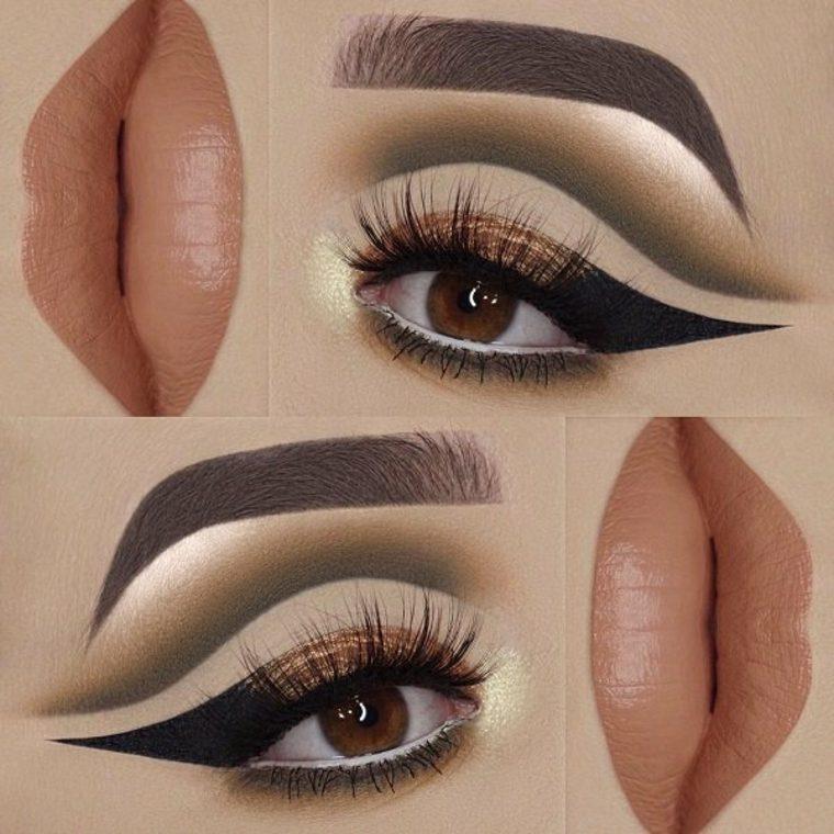 ideas para ojos y labios